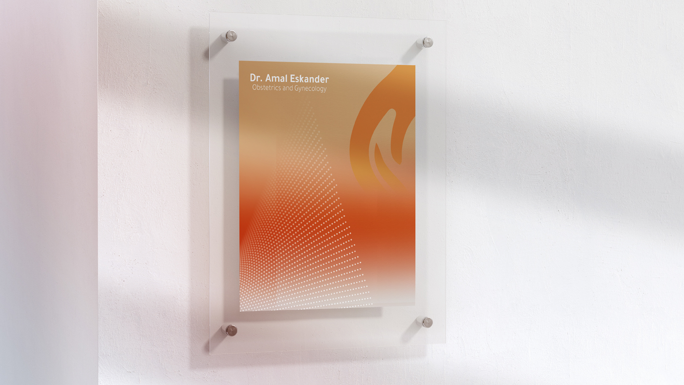 Dr.Amal Brand Project Behance Board 1